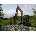 Młot hydrauliczny do midi koparek o wadze 5 do 8 ton